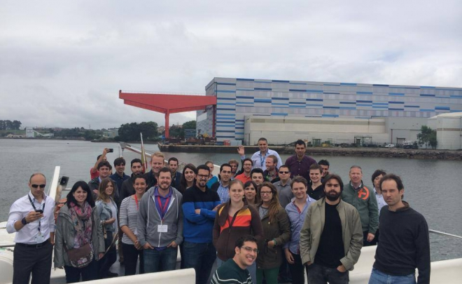 Ensa receives the visit of the International Youth Nuclear Congress